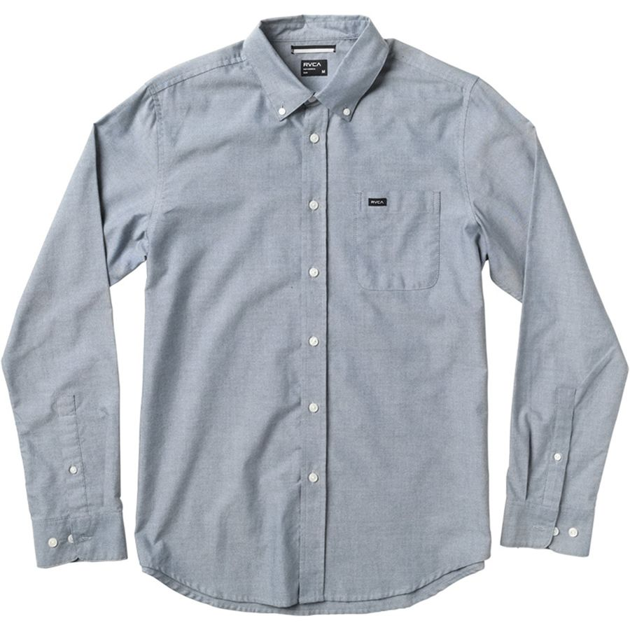 RVCA Thatll Do Oxford Long-Sleeve Shirt - Mens