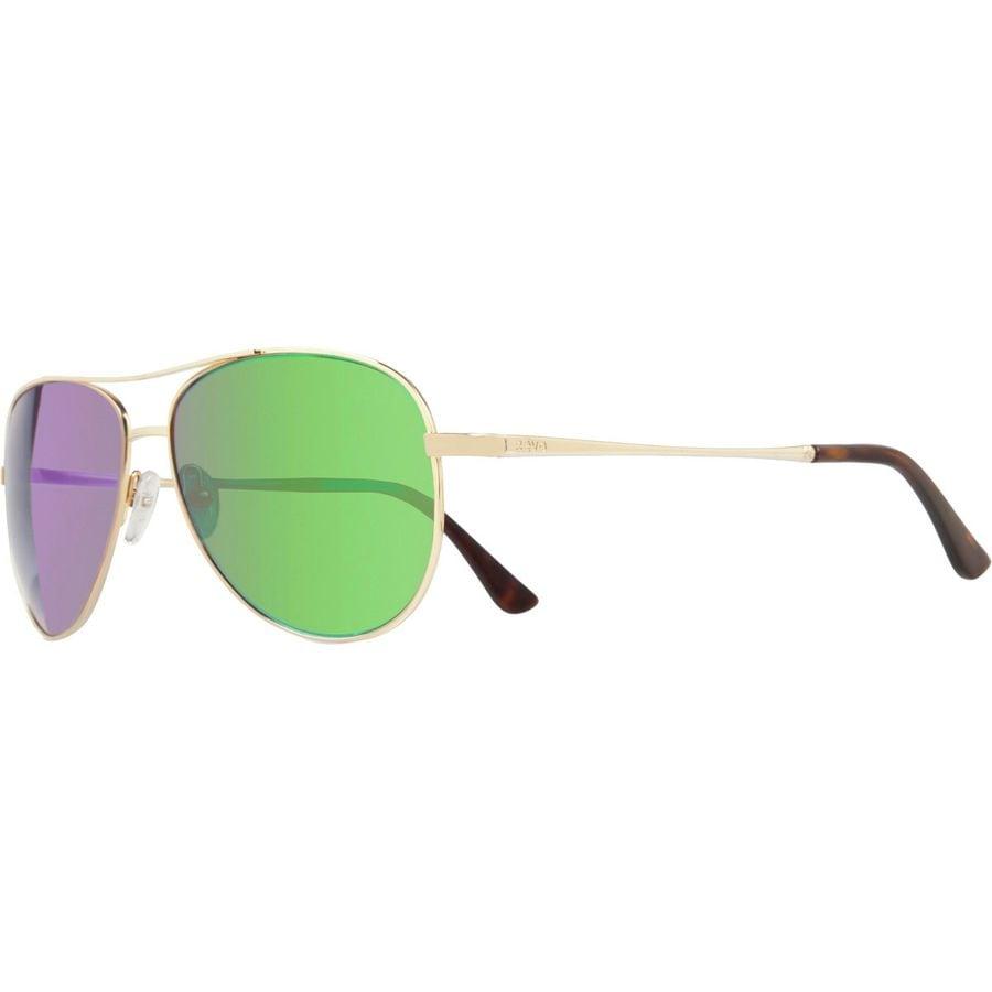 94bbee18dd Revo - Relay Polarized Sunglasses - Women s - Gold Green Water