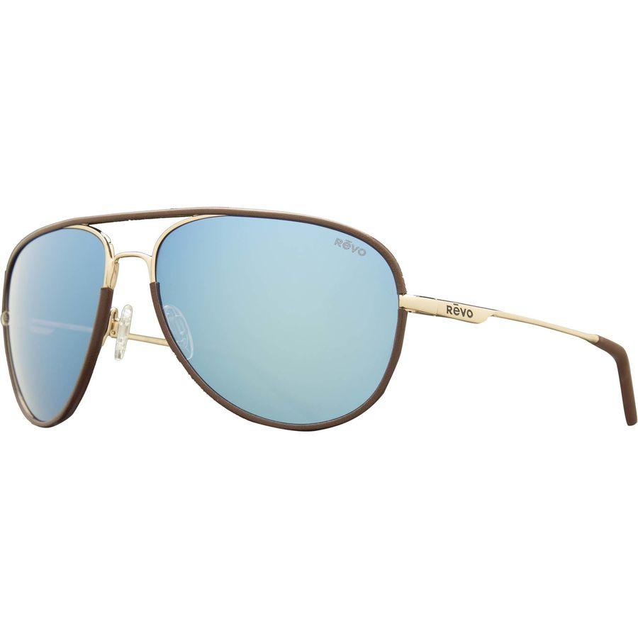 1522e23e4a Revo - Carlisle Polarized Sunglasses - Gold Blue Water