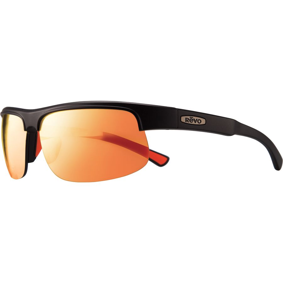 4b33ac9990d4 Revo - Cusp C Polarized Sunglasses - Men s - Matte Black Solar Orange