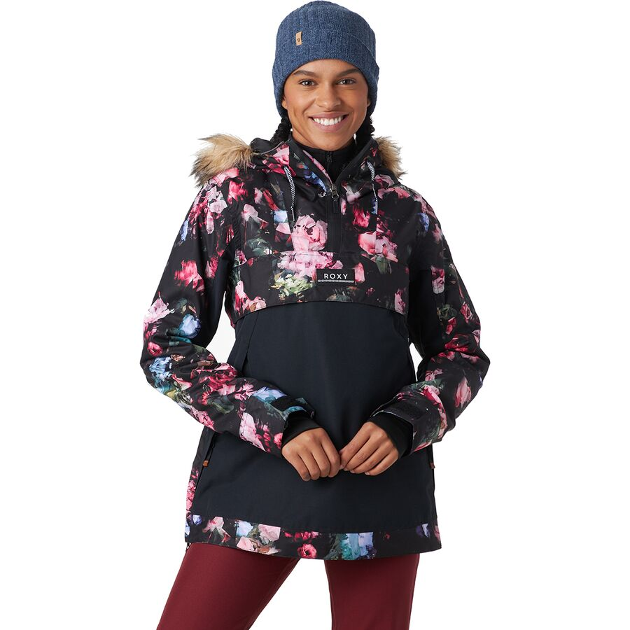 Roxy Shelter Hooded Insulated Jacket - Womens