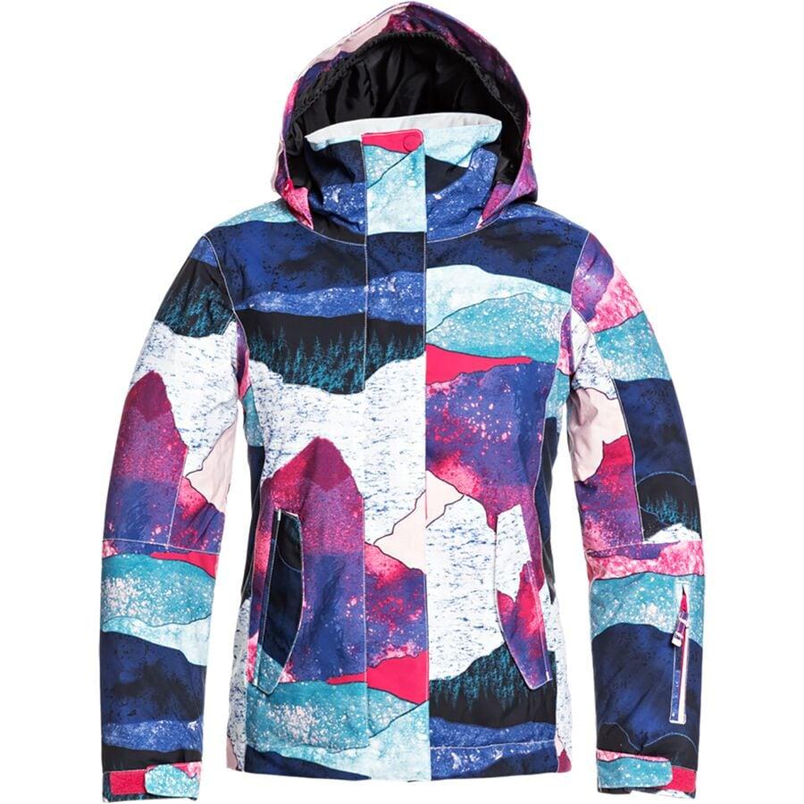 Roxy Jetty Hooded Jacket - Girls