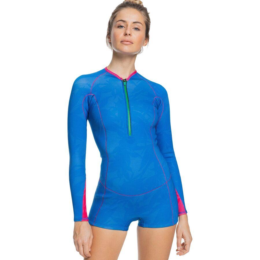 Roxy 1.5 Pop Surf FZ Long-Sleeve Q-Lck Spring Wetsuit - Womens