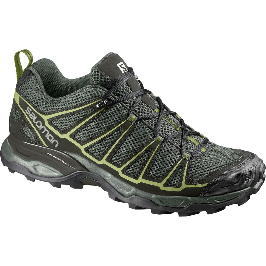 Salomon - X Ultra Prime Hiking Shoe - Men's - Castor Gray/Beluga/Fern
