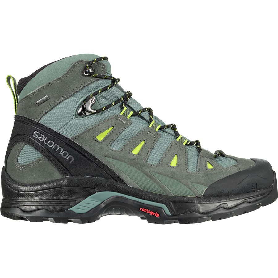 Buy Salomon Quest Prime GTX Brown Hiking Shoes for Men at