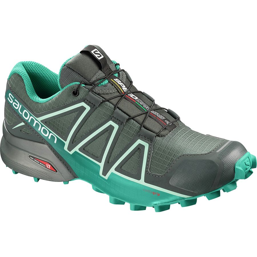 78d612aada47 Salomon - Speedcross 4 GTX Trail Running Shoe - Women s - Balsam  Green Tropical Green