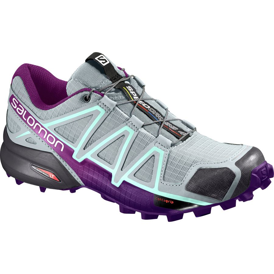 Salomon Speedcross Running Shoe Women's Trail 4 WH2I9ED