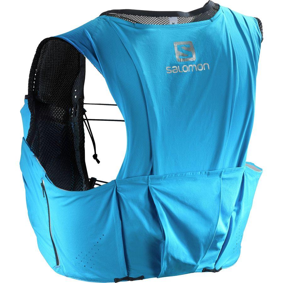 Salomon S Lab Sense Ultra 8l Hydration Vest Transcend Blue Black
