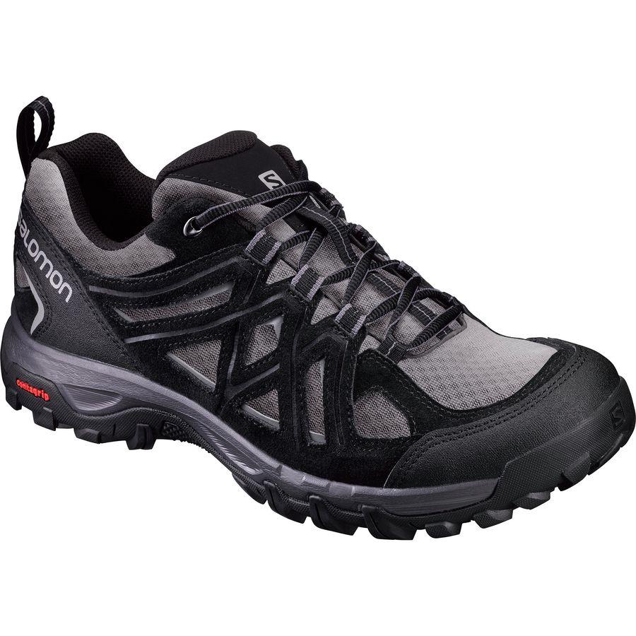 Buy Low Price Salomon Evasion 2 Aero Walking Shoes Men Grey