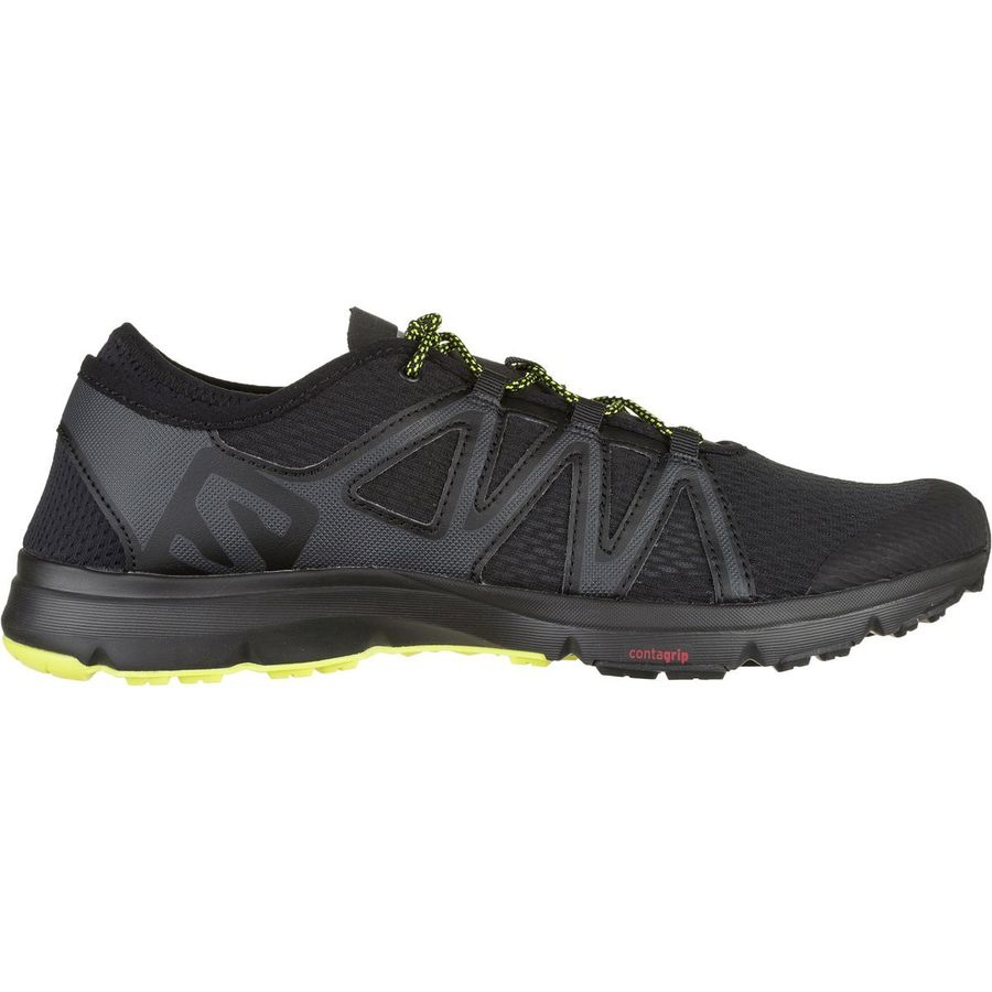 589652b843ed Salomon - Crossamphibian Swift Water Shoe - Men s - Black Phantom Sulphur  Spring