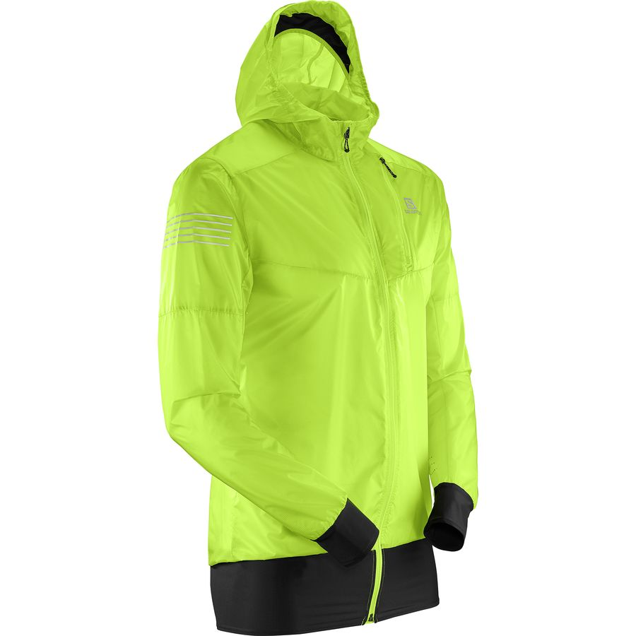 Salomon Fast Wing Hybrid Hooded Jacket - Mens
