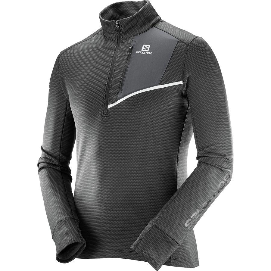 Salomon Fast Wing Mid 1/2-Zip Shirt - Long-Sleeve - Mens