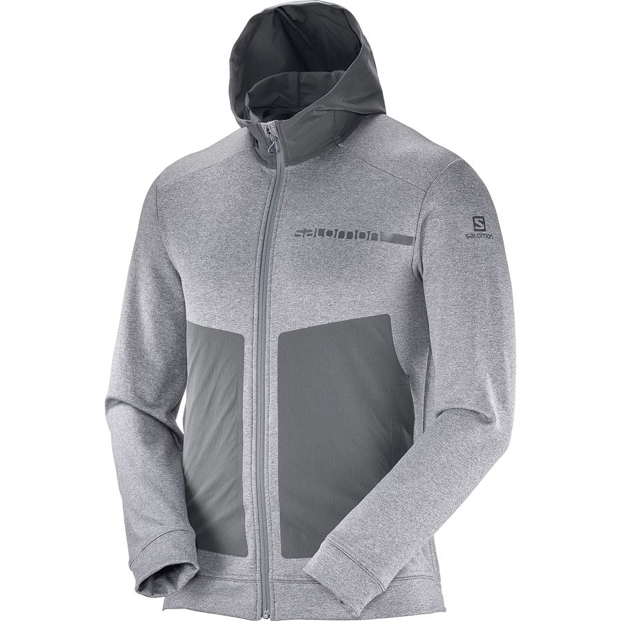 Salomon Pulse Mid Full-Zip Hoodie - Mens
