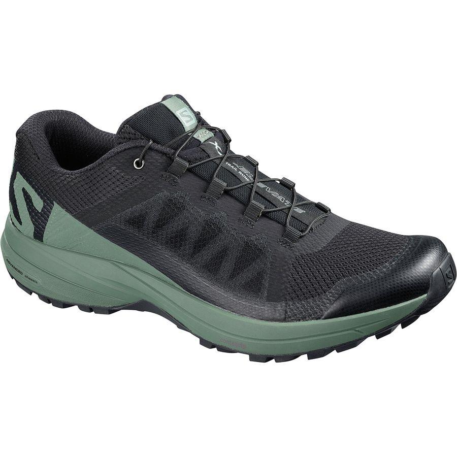 SalomonXA ELEVATE - Trail running shoes - poseidon/lime green/black O7g3a