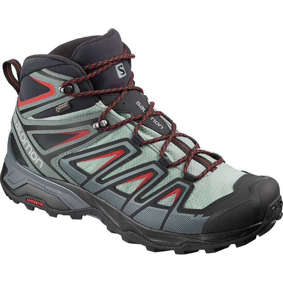 ae3eeb34d22 Salomon - X Ultra 3 Mid GTX Hiking Boot - Men s - Lead Stormy Weather