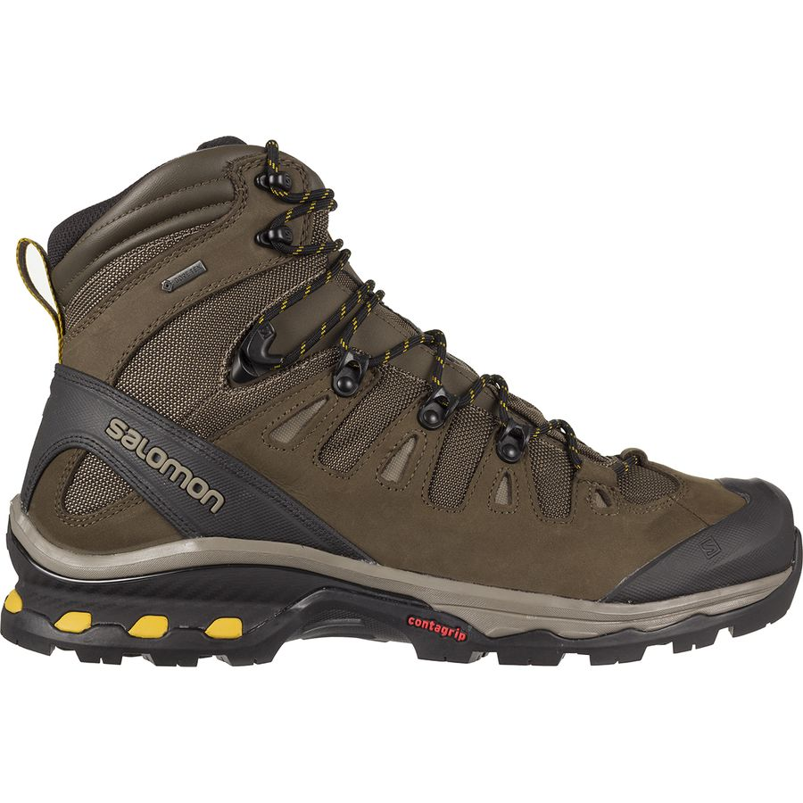 Salomon Quest D Gtx Black Hiking Shoes