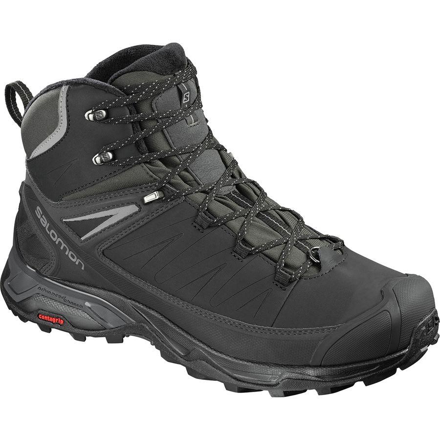Salomon X Ultra Mid Winter CS WP Men39s Shoes BlackPhantom