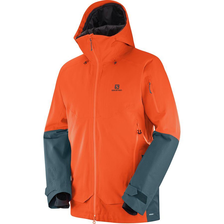 Guard Men's Qst Jacket Hooded Salomon xzvHSwq