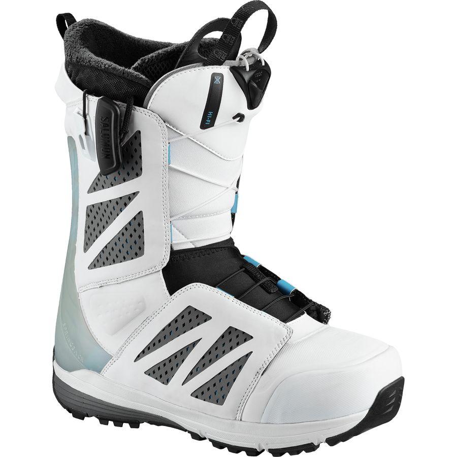 b7e41dea554c Salomon Snowboards - Hi Fi White Snowboard Boot - Men s - White