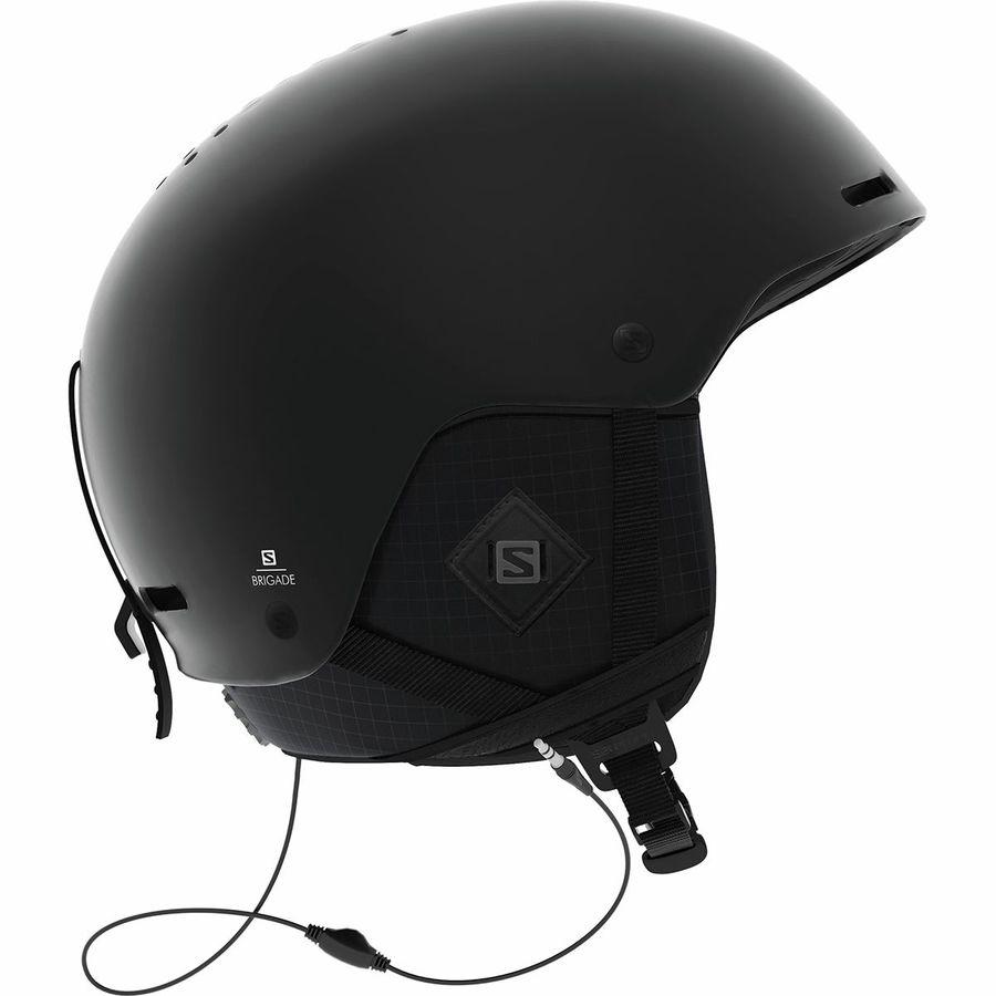 eca8c0c1a4a1 Salomon - Brigade+ Audio Helmet - All Black