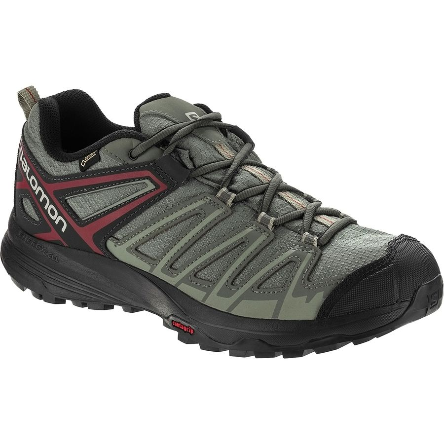Salomon X Crest Gtx Hiking Shoe Men's Big Apple Buddy