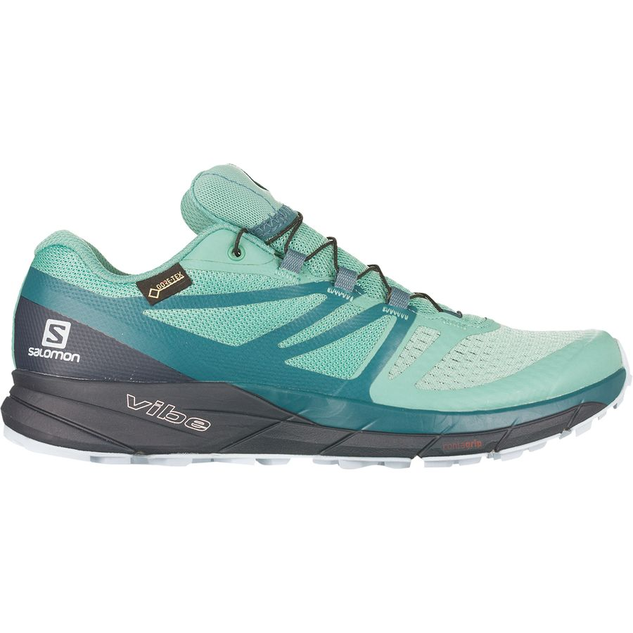 Salomon Sense Ride 2 GTX Invisible Fit Trail Running Shoe Women's