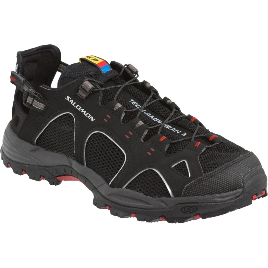 Salomon - Techamphibian 3 Shoe - Men's - Black/Autobahn/Flea