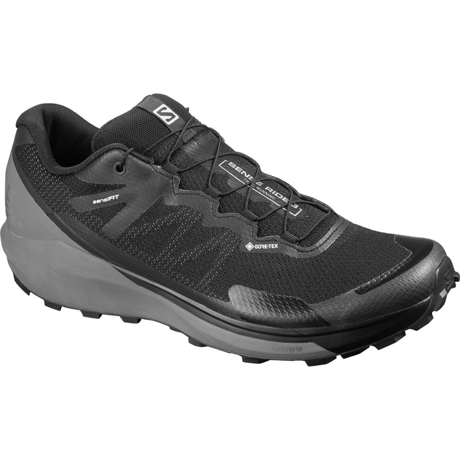 Salomon Sense Ride 3 GTX Invisible Fit Trail Running Shoe Men's