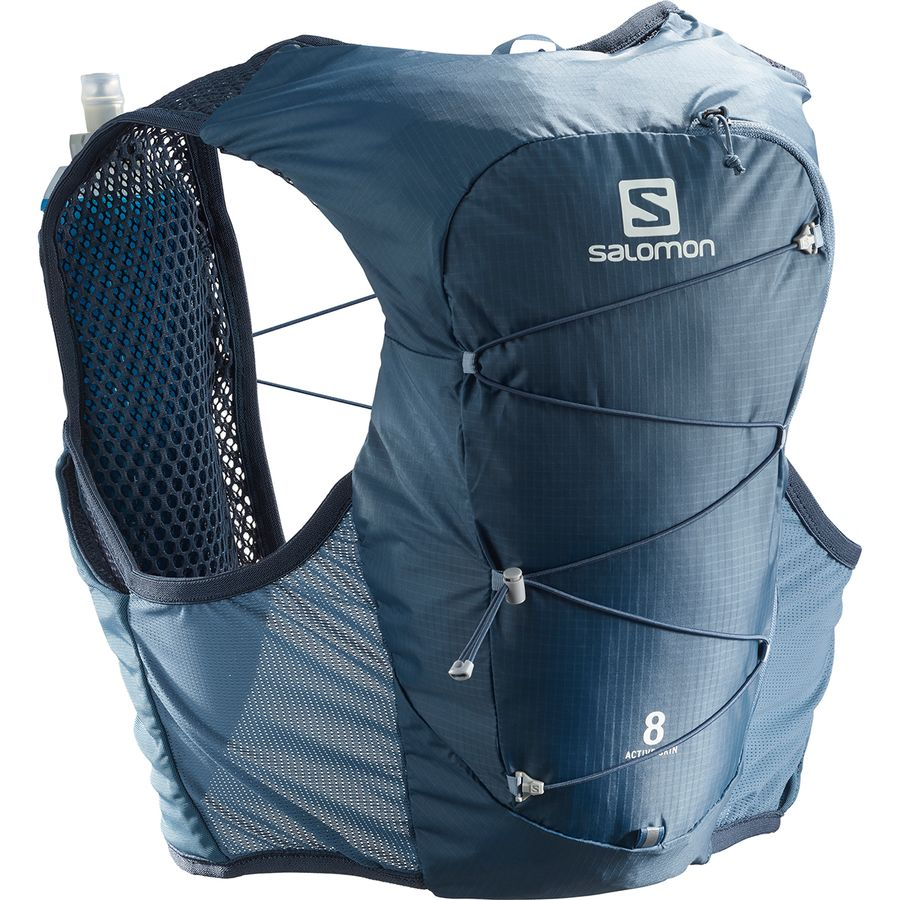 Salomon - Active Skin 8 Set Vest - Copen Blue