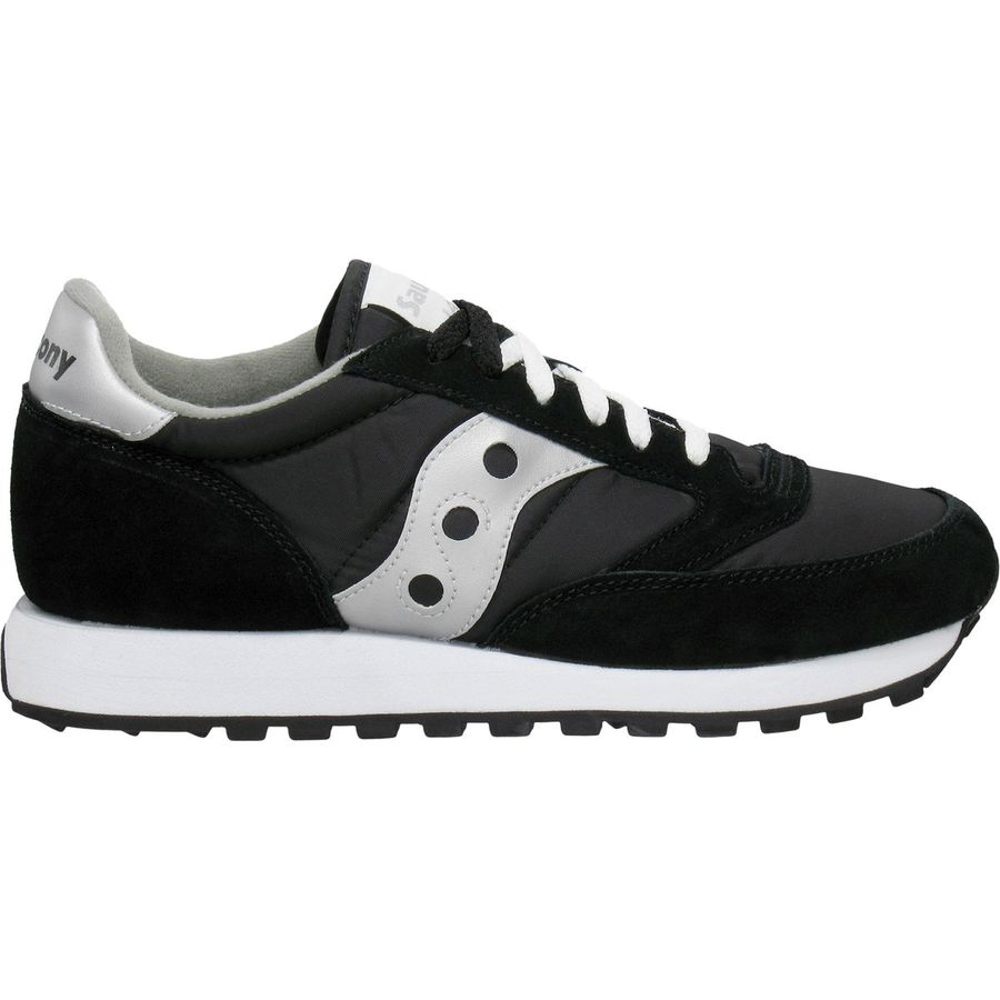 Saucony - Jazz Original Shoe - Men's - Silver/Black Boston