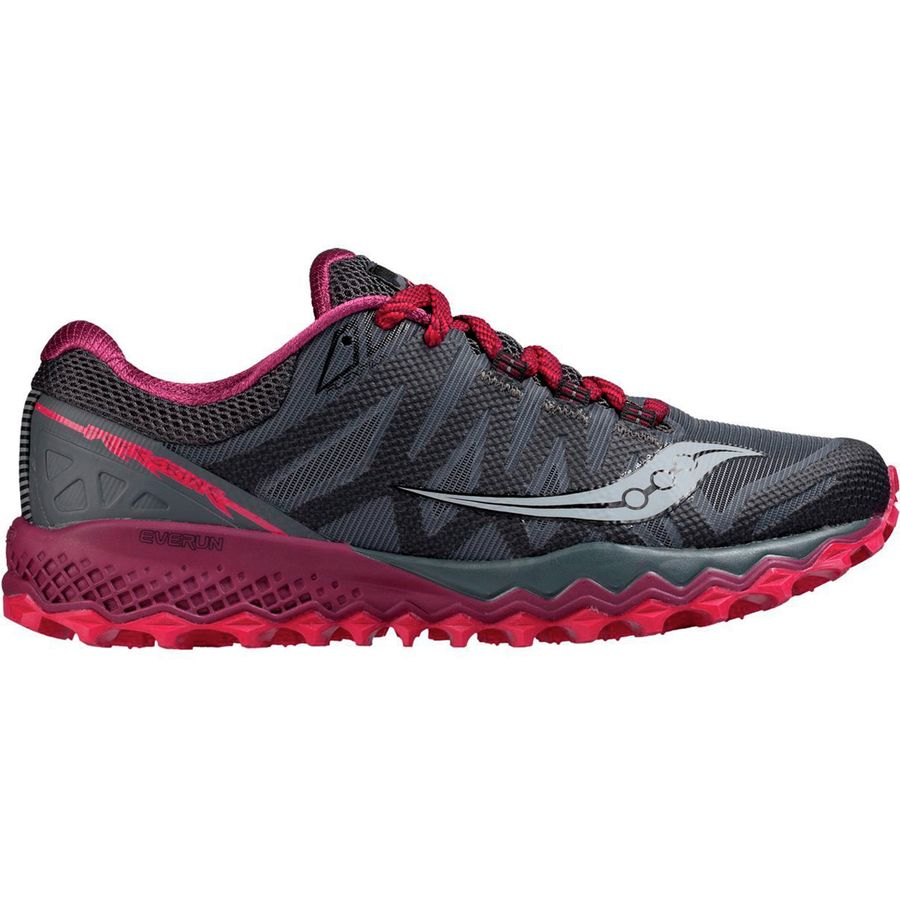 af184eb711fd Saucony - Peregrine 7 Trail Running Shoe - Women s - Grey Berry