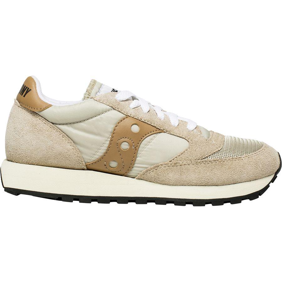 Saucony - Jazz Original Vintage Sneaker - Women s - Cement Tan 61a7375fe1c2