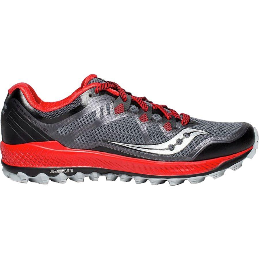 2f8d12da87e355 Saucony - Peregrine 8 Trail Running Shoe - Men s - Black Red