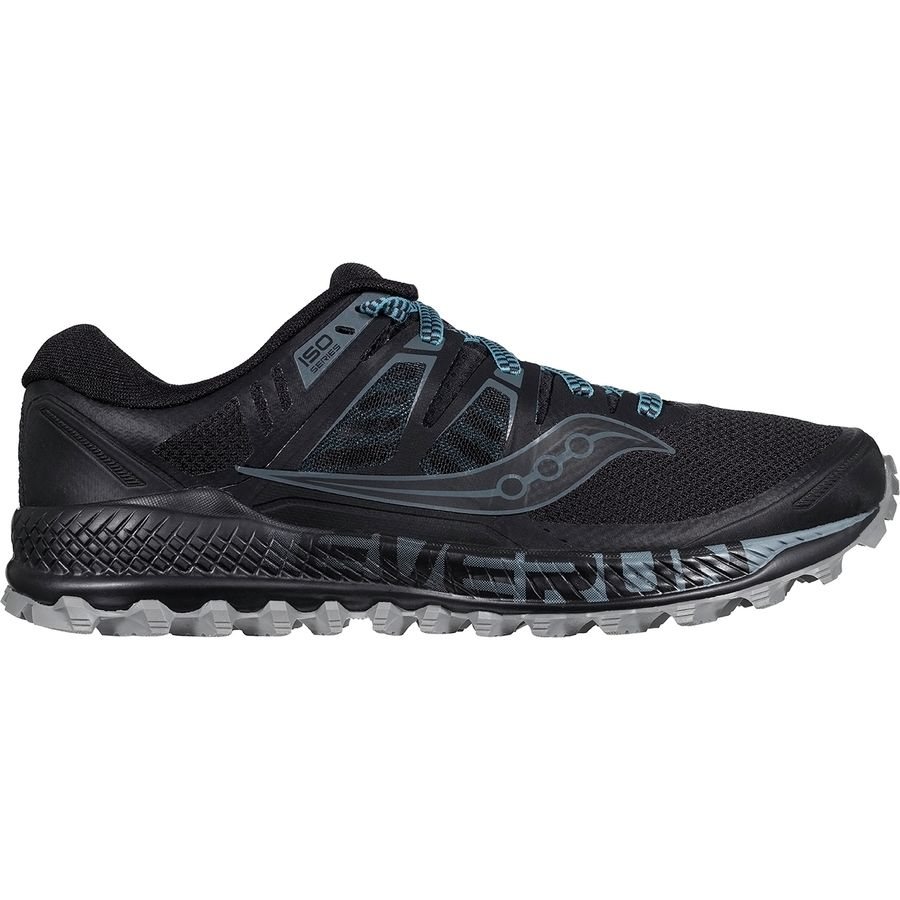5f1386338f8 Saucony - Peregrine Iso Trail Running Shoe - Men s - Black Grey