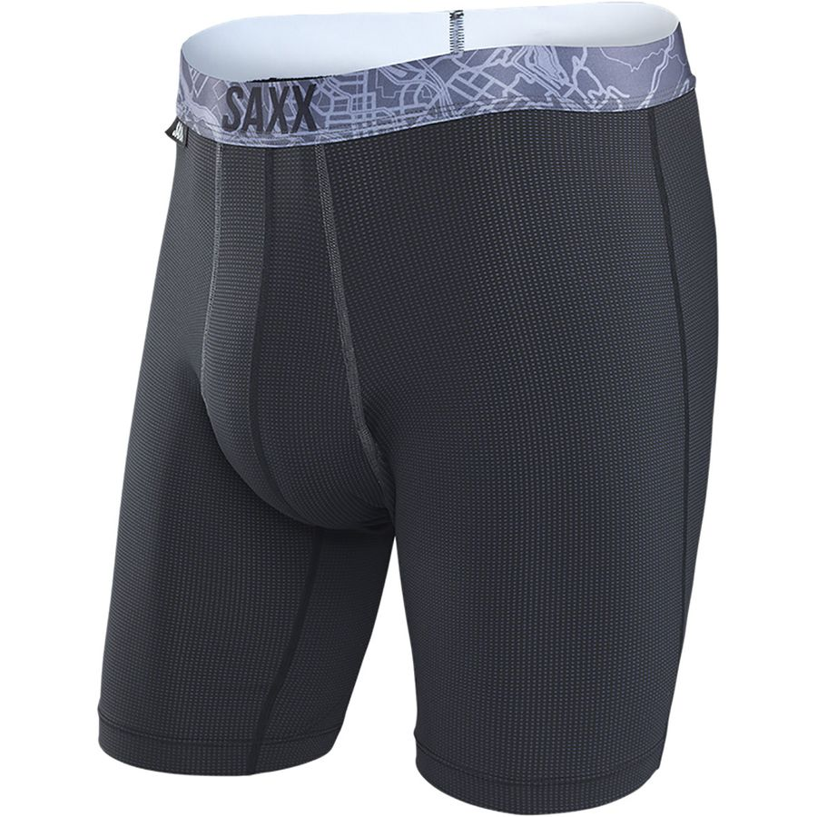 Saxx Quest 2.0 8in Boxer Brief - Mens