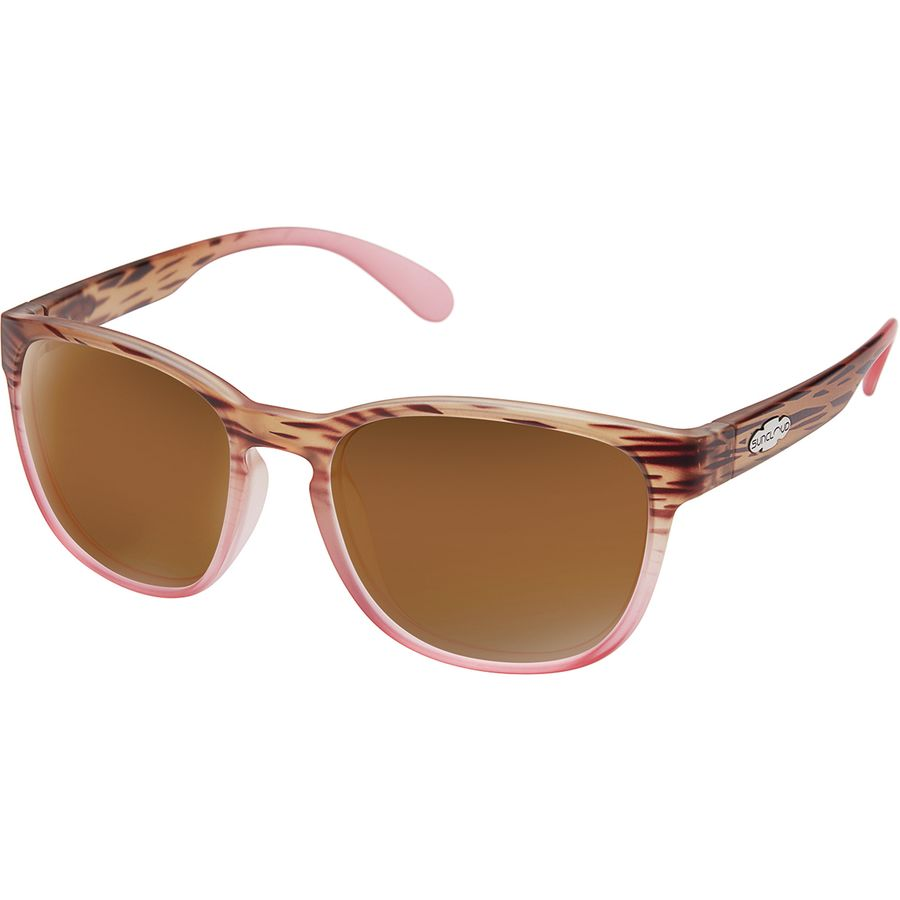 235bf990751 Suncloud Polarized Optics - Loveseat Polarized Sunglasses - Mt Tortoise  Pink Fade Polarized Brown