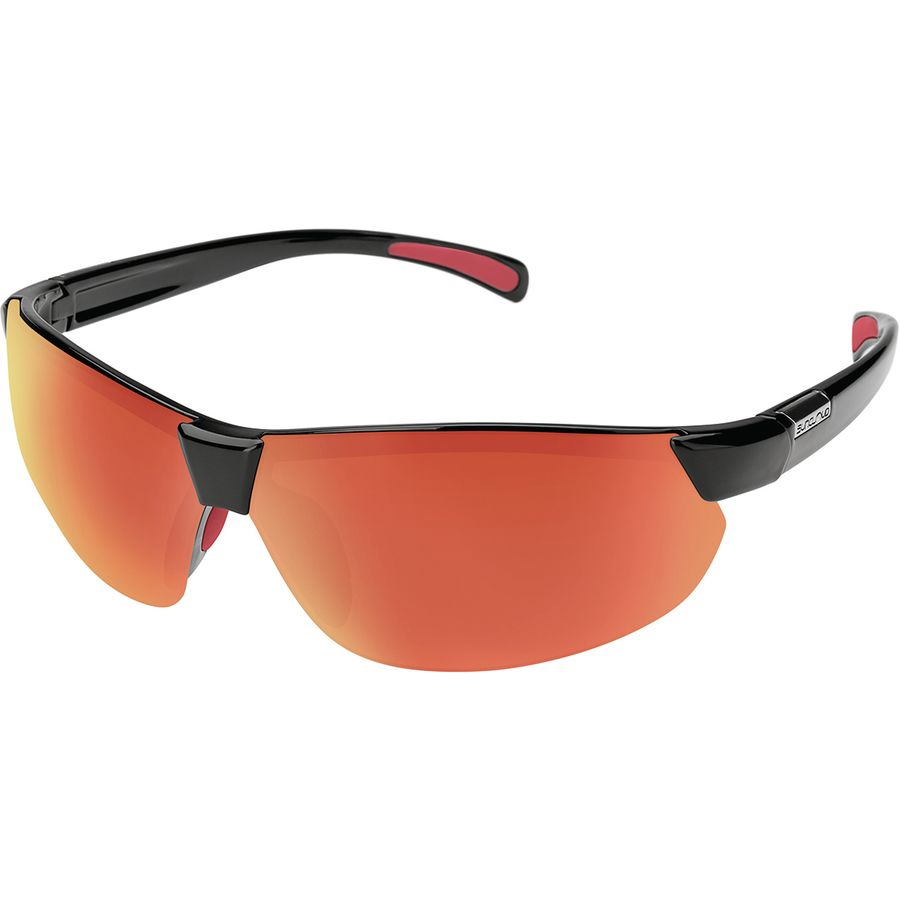 e0a721bdd54 Suncloud Polarized Optics - Switchback Polarized Sunglasses - Men s - Black  Polarized Red Mirror
