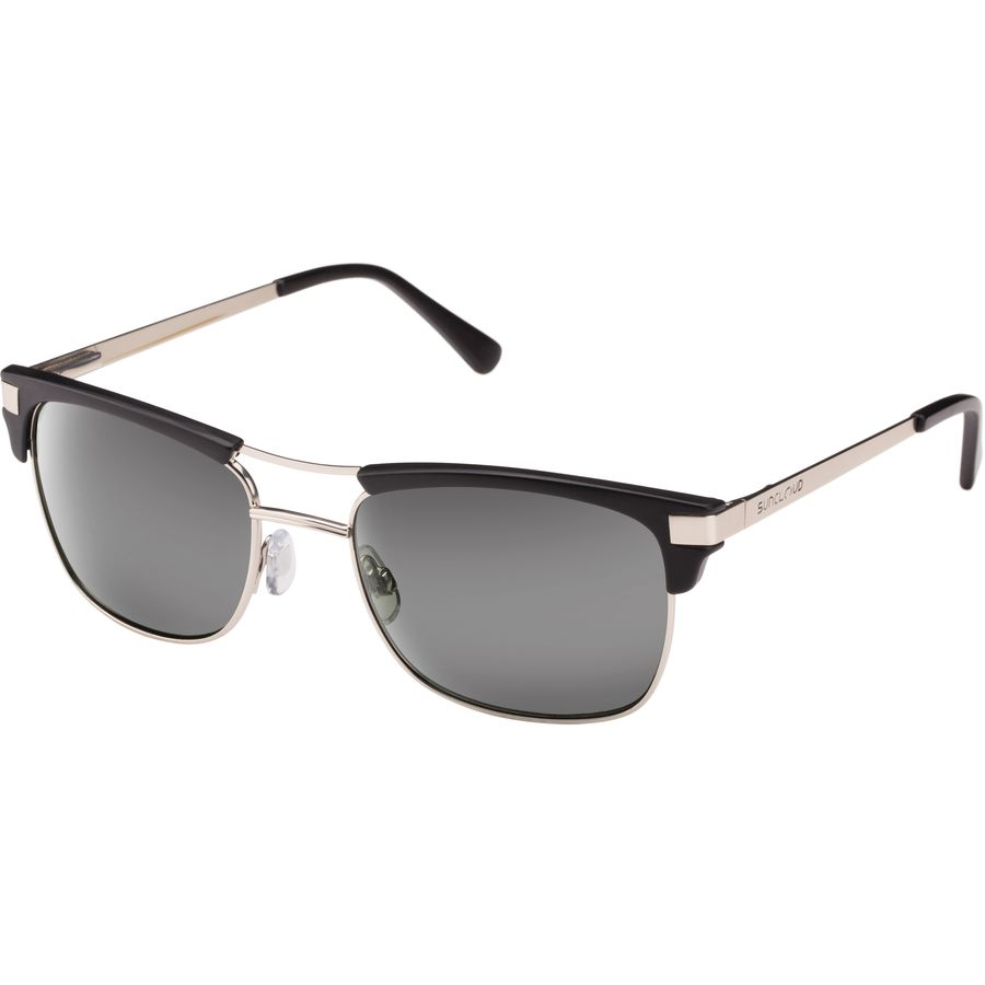 b669d69bd4b Suncloud Polarized Optics - Motorway Polarized Sunglasses - Matte Black Gray