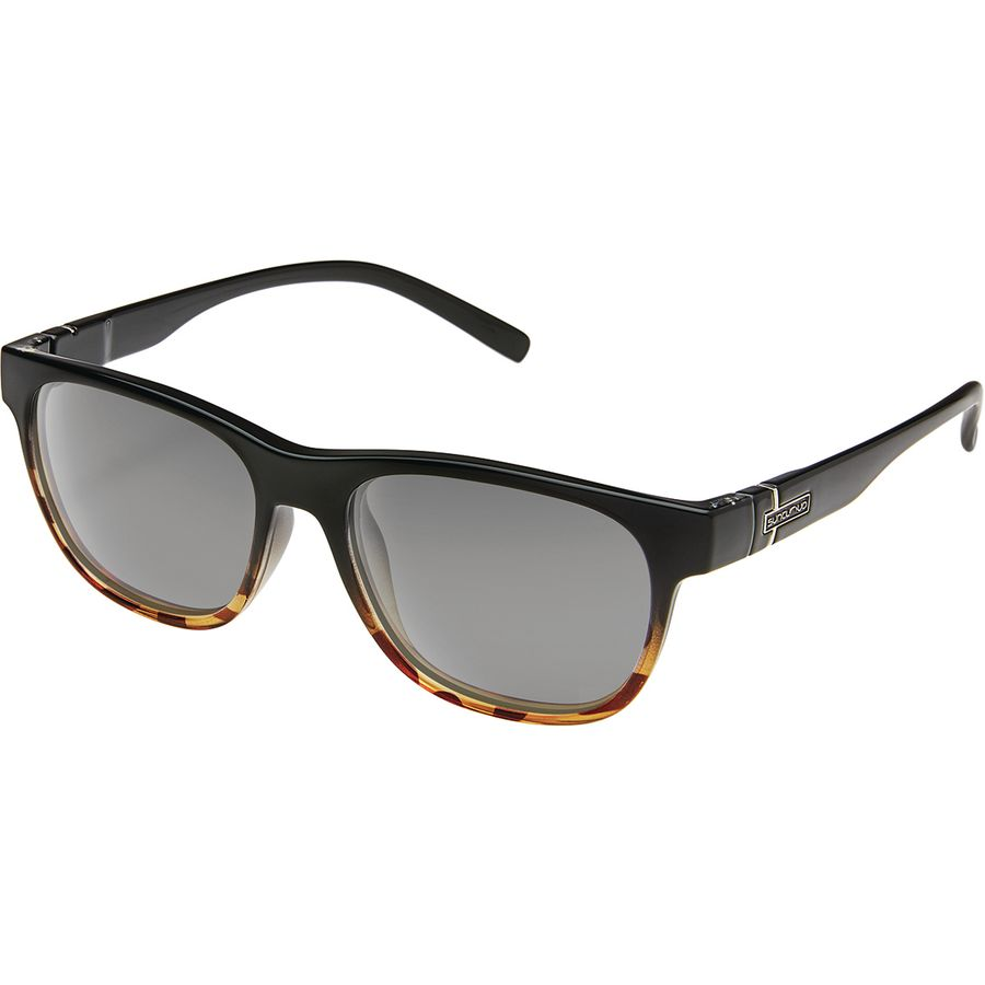 14fd0b08acd Suncloud Polarized Optics - Scene Polarized Sunglasses - Women s - Black  Tortoise Fade Polar Gray