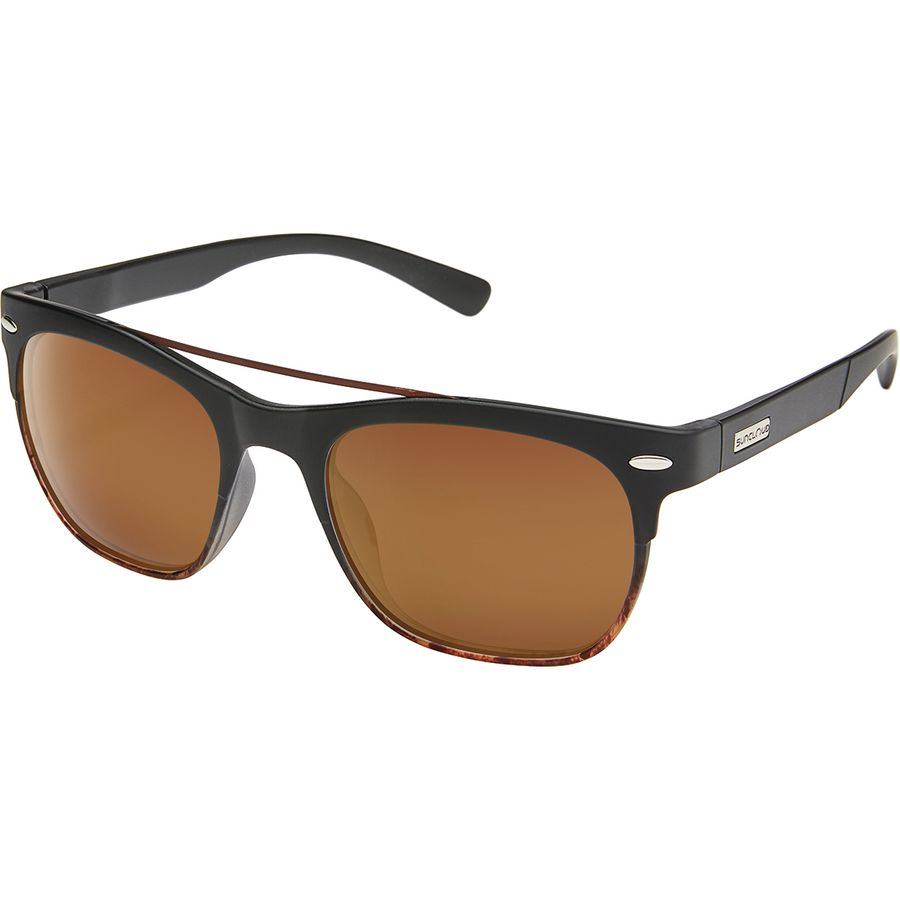 758811b4c4b Suncloud Polarized Optics - Tabor Polarized Sunglasses - Matte Black  Tortoise Fade Polar Brown