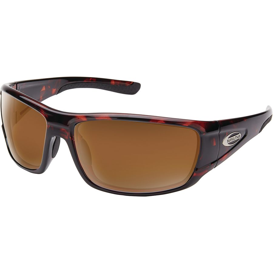 b58473068f6 Suncloud Polarized Optics - Tribute Polarized Sunglasses - Men s - Tortoise  Polarized Brown