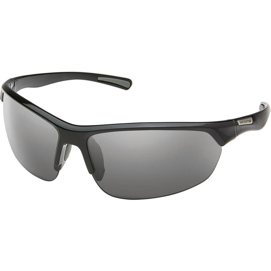 9ebd0dbc9d8 Suncloud Polarized Optics - Slice Polarized Sunglasses - Black Polar Gray