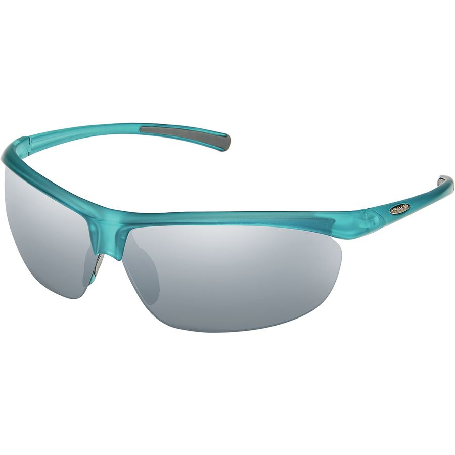 1a8968c7781 Suncloud Polarized Optics - Zephyr Polarized Sunglasses - Matte  Petrol Polar Silver Mirror