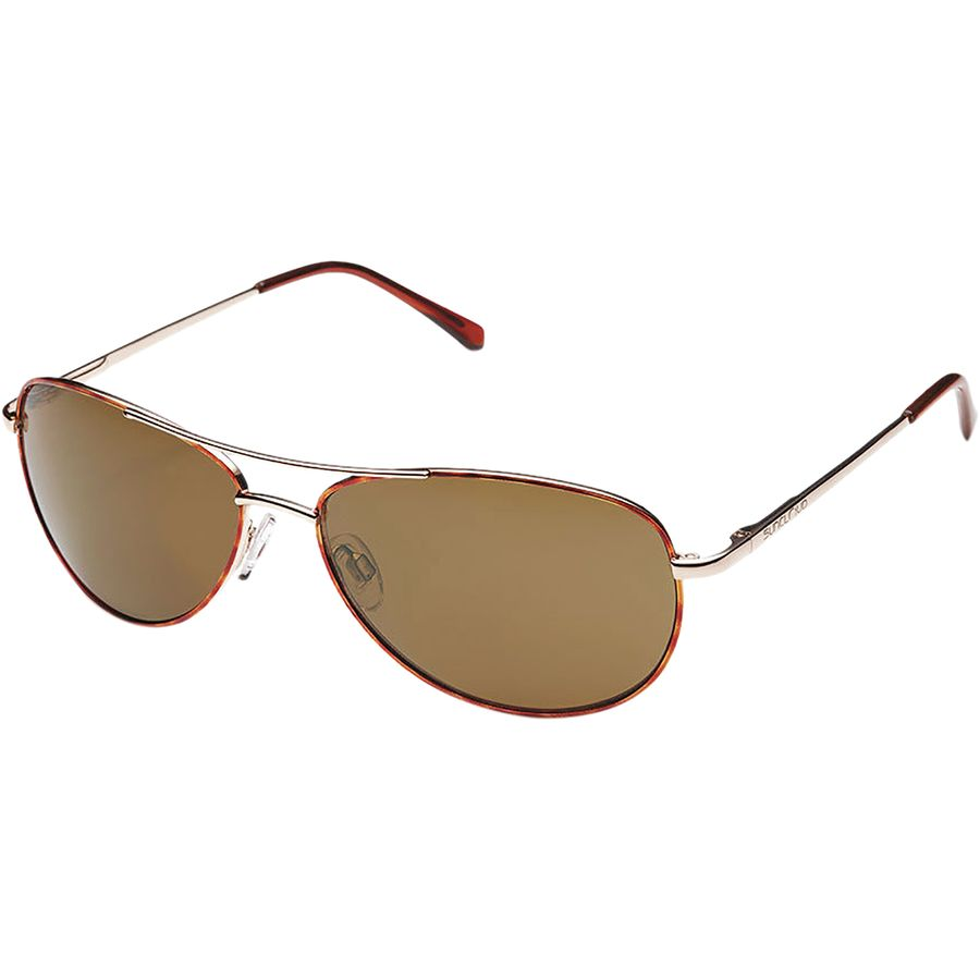 092983ff7b Suncloud Polarized Optics - Patrol Polarized Sunglasses - Men s -  Tortoise Brown