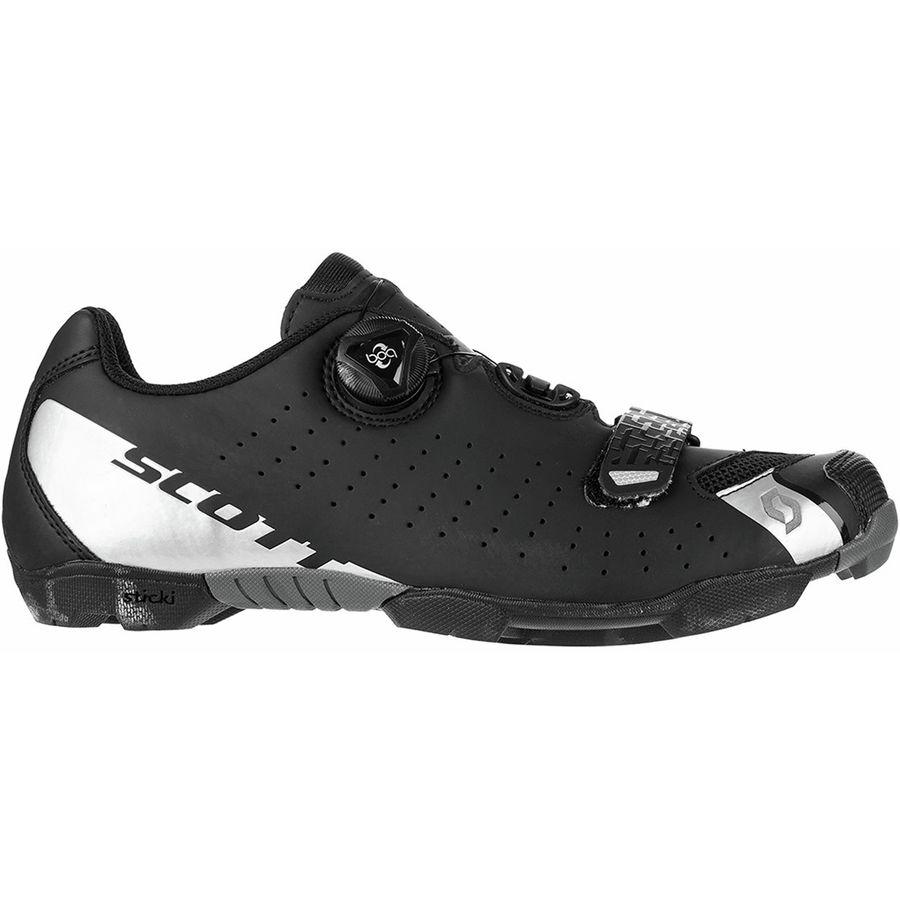 8622dd59479afd Scott - MTB Comp BOA Cycling Shoe - Men s - Matte Black Silver