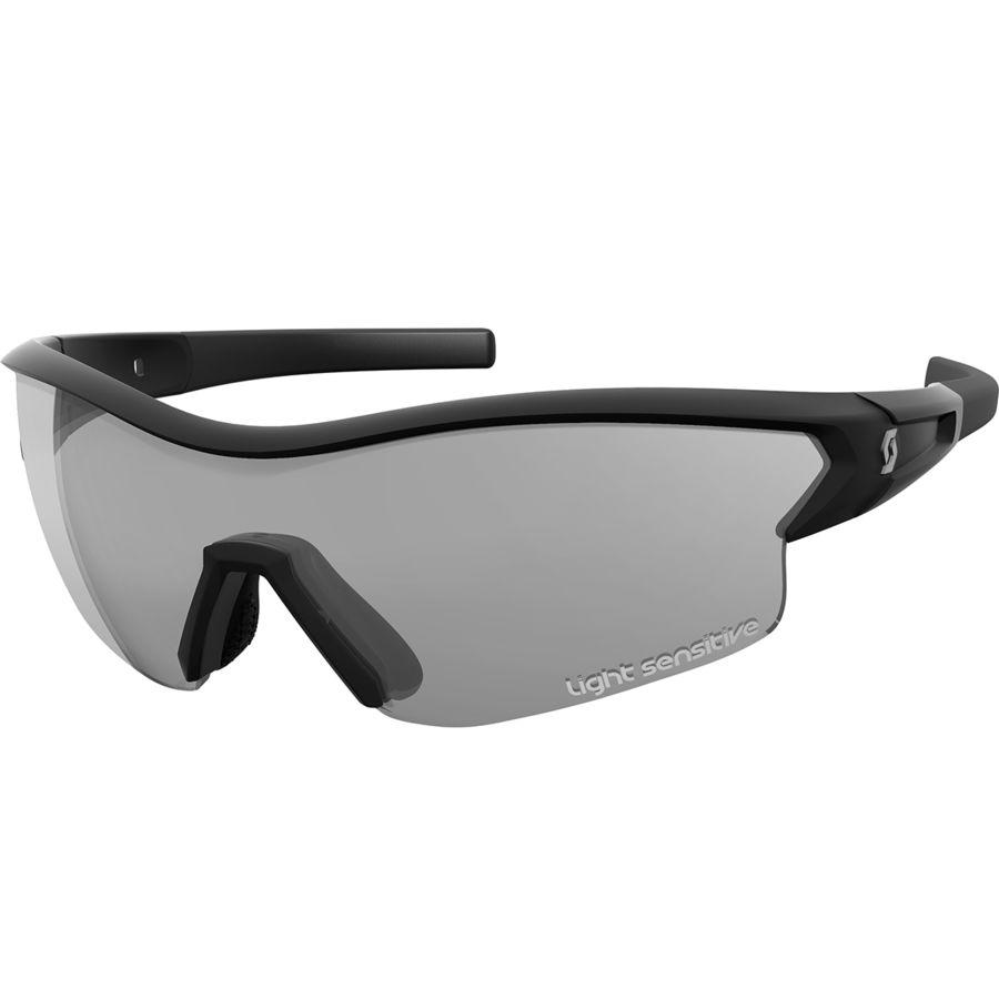 Scott - Leap LS Sunglasses - Black Glossy/Gr Li S + Cl