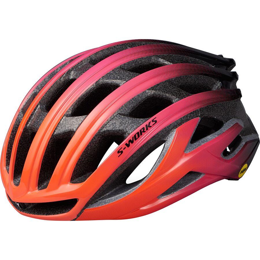 Specialized Echelon Ii Mips Helmet Acid Lava//Acid Purple L
