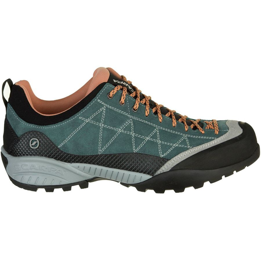 Scarpa - Zen Pro Shoe - Women's - Nile Blue/Salmon