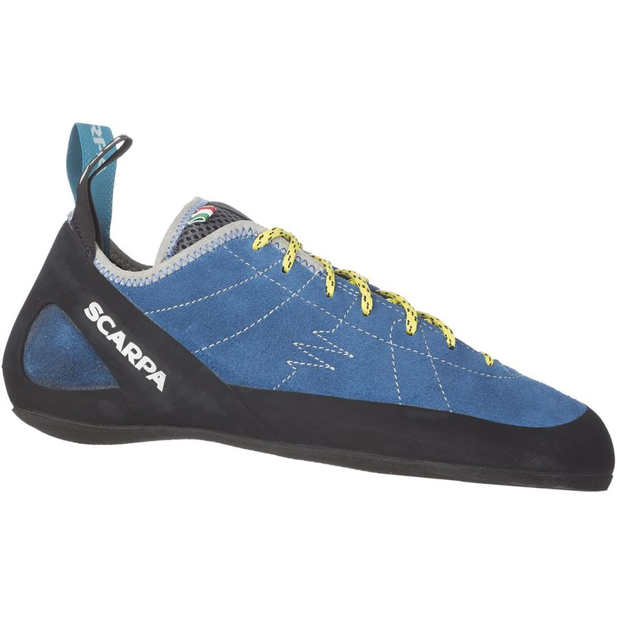 Scarpa - Helix Climbing Shoe - Men's - Hyper Blue