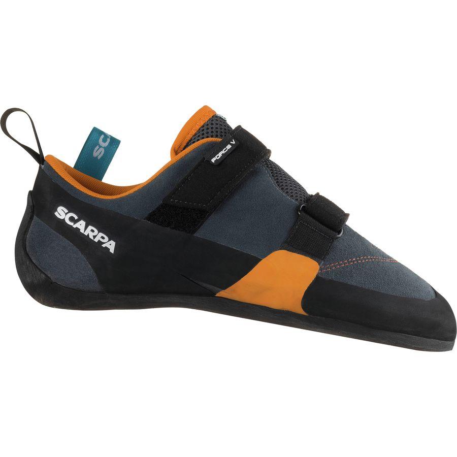 a0f773f8b6d30d Scarpa - Force V Climbing Shoe - Mangrove Papaya